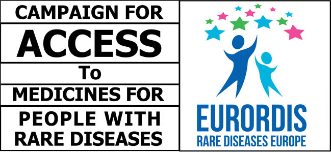Campaign for access to medicines for people with rare diseases
