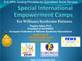 Williams Syndrome camps europe